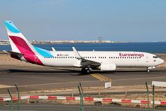 D-ABKM (GH@BHD) Tags: dabkm boeing 737 738 737800 b737 b738 ew ewg eurowings ace gcrr arrecifeairport arrecife lanzarote aircraft aviation airliner