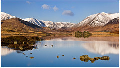 Rannoch Moor (jmillar20) Tags: scotland rannochmoor hills mountains loch reflections blackmount snow