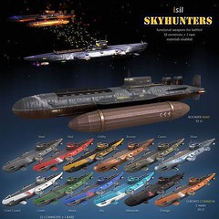New Gacha Item on the Kousara's Store (anukmaneewong1260) Tags: gacha item 2019 march event arcade isil skyhunters uboat weapon functional common sky