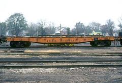 CB&Q 205459 (Chuck Zeiler 48Q) Tags: cbq 205459 burlington railroad flat car mow galesburg train chuckzeiler chz