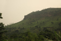 Landscape somewhere in central Ghana (inyathi) Tags: africa westafrica ghana hills cliffs views africanlandscapes landscapes