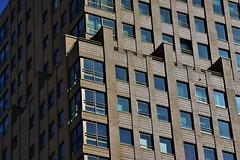 (Uno100) Tags: rotterdam sky scraper building glass reflection 2019 concrete ibis red blue windows modern art