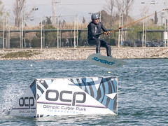 CFR1779 (Carlos F1) Tags: nikon d300 castelldefels ocp olimpiccablepark olimpic sport deporte water agua wakeboard wakeboarding wakesport wakeskate boardsport jump salto table surf surfing watersport acuático fun outdoor barcelona spain