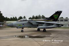 TORNADO-GR4-AF-ZG775-8-3-19-RAF-MARHAM-(1) (Benn P George Photography) Tags: rafmarham 8319 bennpgeorgephotography tornadofinale mightyfin tornado gr4 af zg775 dh zd716 batman goldstars 9sqn 31sqn nikon nikond7100 nikon18105vr nikon24120f4 royalairforce