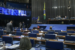 Plenário do Senado (Senado Federal) Tags: plenário senadoralessandrovieirappsse senadorlasiermartinspoders sessãodeliberativaordinária geral paineleletrônico brasília df brasil bra