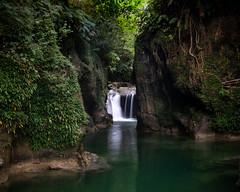 Bicol Waterfall (jbrad1134) Tags: waterfall river canyon green lush asia longexposure travel landscapebeauty peace solitude nature vines luzon bicol donsol stream jungle