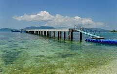 Jetty (Explore 01/04/19 #43) (Sarah Marston) Tags: jetty pier thailand kohmudsum kohsamui fujifinepix march 2019 boats asia
