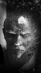 Dry Plate image of Lenin bust (Sonofsono) Tags: film finland soviet bust lenin communism black bw white fkd 13x18 dry plate agfa expired longexposure
