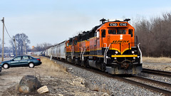Unibrow (Robby Gragg) Tags: bnsf sd402 1740 joliet