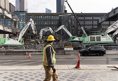 A glimpse into the waterfront's future (WSDOT) Tags: demolition replacement construction wsdot gp seattle viaduct 2019 alaskan way
