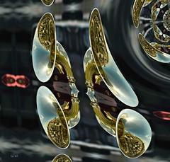 Ode musicale (Emmanuelle Baudry - Em'Art) Tags: art artwork abstract abstrait artnumérique artsurreal artdigital digitalart music musique fractal shiny brillant reflet reflection reflexion reflect reflets emmanuellebaudry emart
