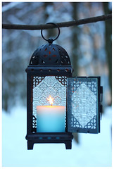 Lantern in winter (enigma02211) Tags: lamp lantern