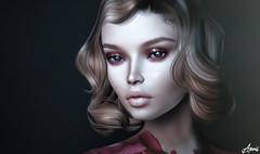 Don't Let Me Down.. (Anais Maelle) Tags: art blogger closeup creative doux face fashion glamaffair headbento italian lelutka maelleanais portrait secondlife style