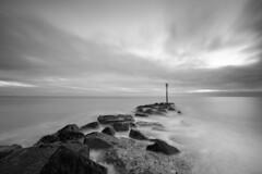 The Beach (Visible Landscape) Tags: uk hampshire sunset haylingisland visiblelandscape landscape photography seascape