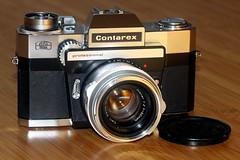 Contarex Professional (mkk707) Tags: zeissikonstyle zeissikoncontarexprofessional carlzeissplanar1250mmcontarexmount vintagelens vintagefilmcamera canoneos600d leicabellowsr leica100mmf4macroelmarr