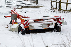 Farm machinery in the snow (Ashley Middleton Photography) Tags: broadblunsdon england europe industrial snow unitedkingdom weather wiltshire