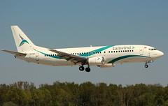 Tailwind, TC-TLE, MSN 27628, Boenig 737-4Q8, 07.05.2016,  HAM-EDDH, Hamburg (Named: A.Güney) (henryk.konrad) Tags: 20160507ham tailwind tctle msn27628 boenig b734 b7374q8 hamburg hameddh henrykkonrad