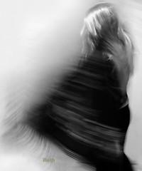 water's women (14) (ibethmuttis) Tags: ibeth nikond300s water woman movement artistic work bw symbolism blur dancing
