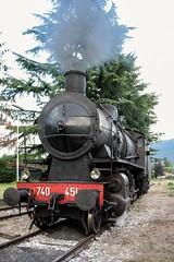 740 451 (Luigi_1964_2) Tags: paraticosarnico italy vintage oldstyle locomotiva vapore train railway lagodiseo steamlocomotive steamer