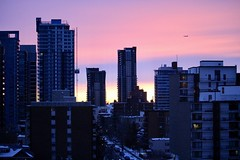 Just another Calgary morning (JMacPherson) Tags: sunrise sky colourful urban calgary alberta city morning