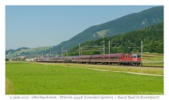 Re 420 Pèlerin (CC72080) Tags: re420 re44 pèlerin locomotive train zug personenzug oberbur oberbursiten euroexpress extrafahrt