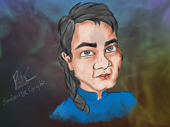 Digital Painting (saincitaroy) Tags: painting digital art caricature