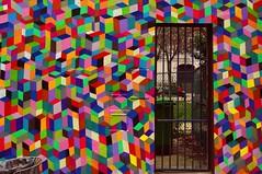 Garden's gate (Edgard.V) Tags: paris parigi streetart arte urbano irban miral callejero
