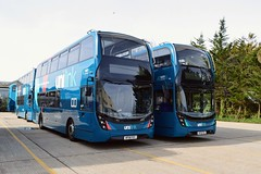 Unilink Buses (PD3.) Tags: go ahead goahead group gsc south coast eastleigh hampshire england uk bus buses psv pcv barton park hants dorset bluestar unilink adl enviro 400 mmc fdy fex hf18fex hf18fdy hf18