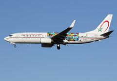 "ROYAL  AIR  MAROC / Boeing   B 737-800 WL   CN-RGH  ""Wings of African Art : Mboko Lagriffe cs"" / LFBO - TLS / mars 2019 (gimbellet) Tags: canon nikon spotting spotter boeing blagnac lfbo planes transport transportation toulouse tls toulouseblagnac a320 a380 a330 airplanes a340 aviation aircraft avions airbus aeroport a350 aeronautique airport airplane atr aeroplane b737 b737800wl"