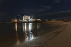 Torre Chianca - 2 (Manuel Gennerich) Tags: portocesareo torrechianca italien italy landscape landschaft langzeitbelichtung longtimeexposure night beach tower