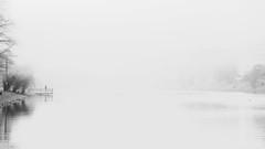 pool (Darek Drapala) Tags: pool lake lakeshore skaryszewski bw blackwhite blackandwhite panasonic poland polska panasonicg5 park reflection reflects warsaw warszawa water waterscape winter nature lumix light