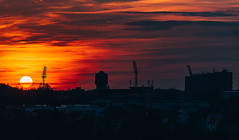 Sunset. (Robert Hájek) Tags: sun sunset kladno czphoto czechrepublic czech city sony sonya7iii sky