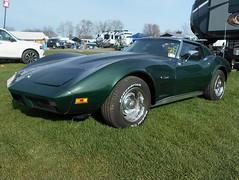 1974 Chevy Corvette (splattergraphics) Tags: 1974 chevy corvette c3 carshow carlisle springcarlisle carlislepa