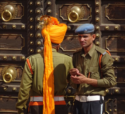 Amber Fort guards