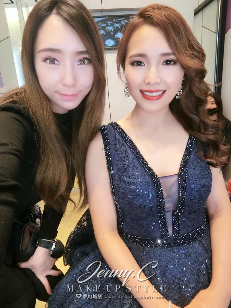 【新秘蓁妮】bride孟萱 結婚造型 / 大中華婚宴會館