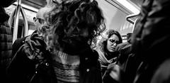 Relax!!! (Baz 120) Tags: candid candidstreet candidportrait city contrast street streetphotography streetphoto streetcandid streetportrait strangers rome roma ricohgrii europe women monochrome monotone mono noiretblanc bw blackandwhite urban life portrait people italy italia tube grittystreetphotography faces decisivemoment