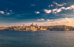 Valetta (Vagelis Pikoulas) Tags: valletta sliema malta island europe travel holidays winter february 2019 tokina 2470mm view landscape city cityscape urban sea seascape architecture church