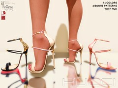 Forssa @ Collabor88 April 2019 (Eboni Khan) Tags: maitreya lara belleza freya isis slink hourglass mesh body shoes heels summer spring 2019 c88 collabor88 april patent leather sandal female avatar