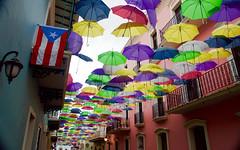 DSC_0146 (Juan Valentin, Images) Tags: puertorico oldsanjuan art arte parapluie paraguas exhibition colonial spanish español