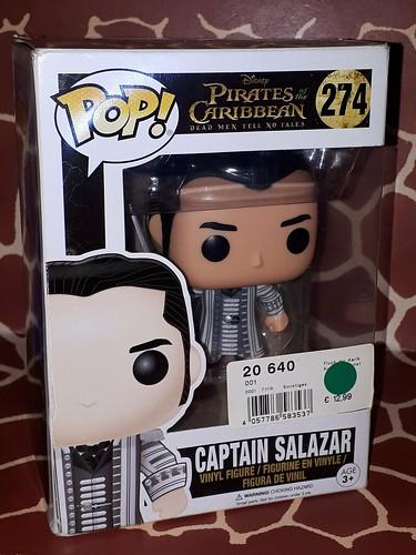 Captain Salazar no.274 ▪▪ Dead Men Tell no Tales series Funkopop Pop!Pirates of the Caribbean ▪▪▪▪
