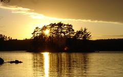 DSC05051 (MSchmitze87) Tags: schweden sweden dalsland kanu canoeing see lake sunset