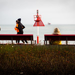 Sea view in red ... thumbnail