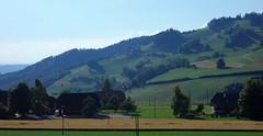 DSC05640 (ursrüegsegger) Tags: linden juli august getreideernte bauernhöfe landschaft regenbogen