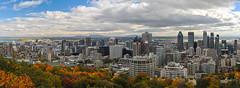 retour à Montréal (jean-marc losey) Tags: canada québec montréal panorama automne autumn randonnée parc montroyal belvédère d700 lightroom