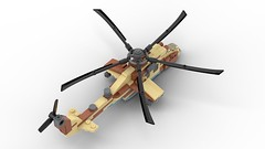 Lego Mi-24 HIND | 1:75 Microscale (DarthDesigner) Tags: ldd moc builds instructions bricks brick mocs lego digital designer star wars oninemesis thedarthdesigner tdd military darth mi24 mi35 mil hind legodigitaldesigner starwars digitaldesigner