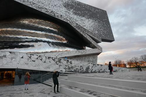 Philharmonie de Paris (2009-2015), quartier de Pont de Flandres, XIXe, Paris, France.