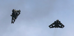 Break to land (Treflyn) Tags: tornado farewell flypasts due this week shot fully swept wing swing panavia gr4 raf marham last month za613 075 bank away circuit za449 020 airfield