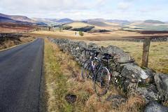 My Bike and the Glens (eric robb niven) Tags: ericrobbniven scotland cycling road hills landscape kilry glen isla