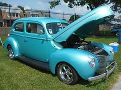 1940 Ford Standard Tudor (splattergraphics) Tags: 1940 ford standard tudor customcar hotrod carshow nsra streetrodnationalseast yorkexpocenter yorkpa