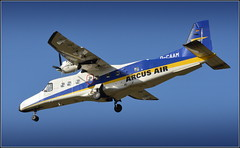 Arcus Air Dornier 228-212 (D-CAAM) Cargo Flight Inbound Liverpool John Lennon Airport 14th March 2019 (Cassini2008) Tags: arcusairdornier228212 liverpooljohnlennonairport wynneaviation cargoflight dornier aircraft aviation arcusair